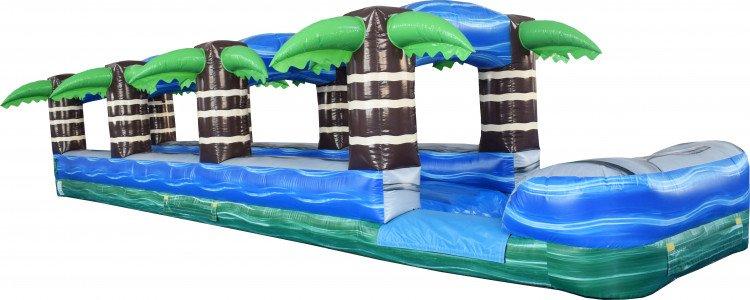 Tropical Single Lane Slip N Slide